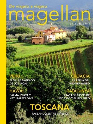 Revista de viajes Magellan - Abril 2016