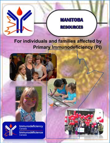 For individuals and families affected by Primary Immunodeficiency (PI)