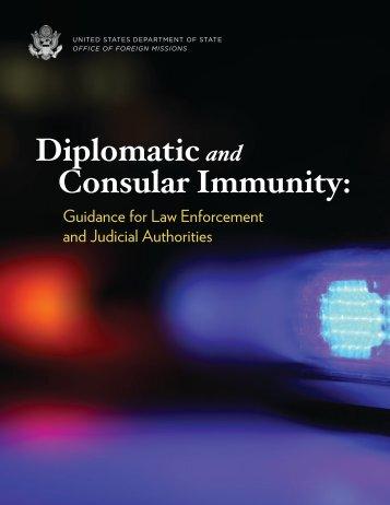 Consular Immunity