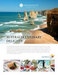AUSTRALIA CULINARY DELIGHTS