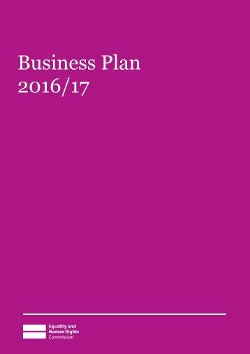 Business Plan 2016/17