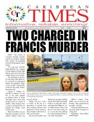 Caribbean Times 85th issue - Friday 8th April 2016
