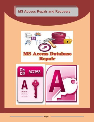 MS Access Repair and Recovery