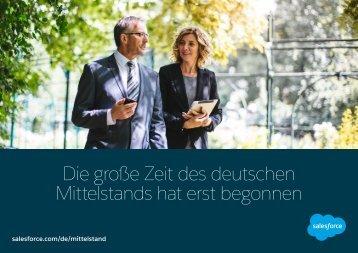 Die große Zeit des deutschen Mittelstands hat erst begonnen