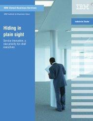 Hiding in plain sight - IBM