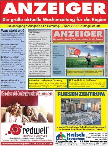 Anzeiger Ausgabe 14/16