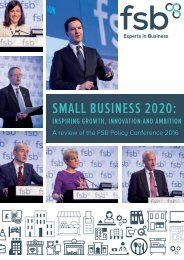 Small BuSineSS 2020