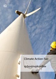brochure Climate Action Fair