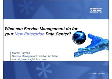 What can Service Management do for your New Enterprise Data - IBM