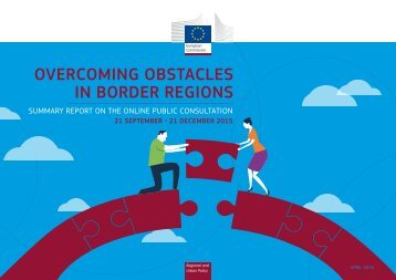 OVERCOMING OBSTACLES IN BORDER REGIONS