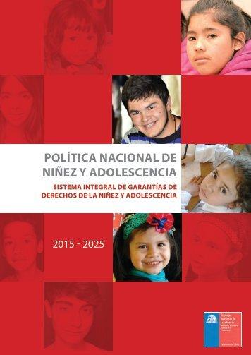 POLÍTICA NACIONAL DE NIÑEZ Y ADOLESCENCIA
