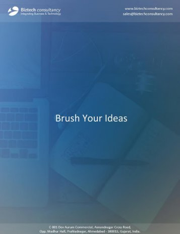 Brush Your Ideas Magento Extension