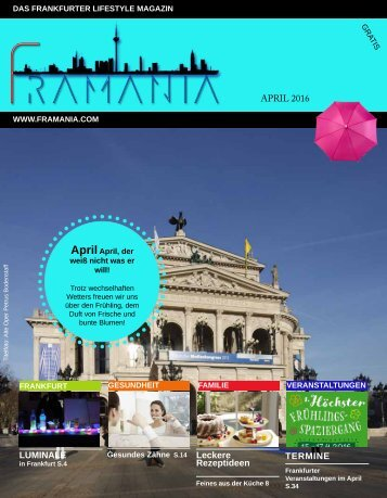 Framania Magazin Ausgabe April 2016