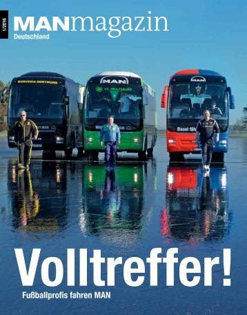 MANmagazin Bus Ausgabe 1/2016