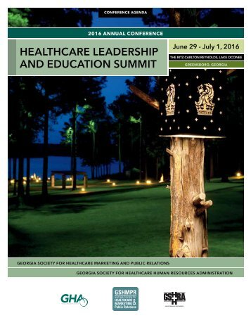 HEALTHCARE LEADERSHIP AND EDUCATION SUMMIT