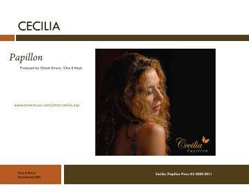 Cecilia – Papillon - One E Music