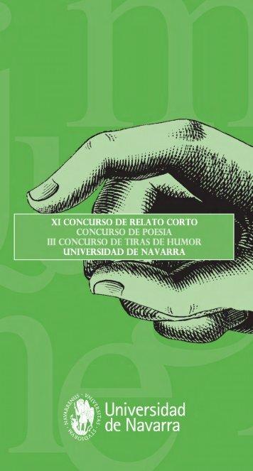 XI RELATO CORTO 6.0 - Universidad de Navarra