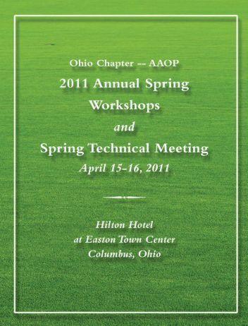 Program - Ohio Chapter -- American Academy of Orthotists and ...