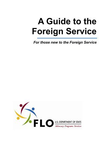 A Guide to the Foreign Service - US Department of State