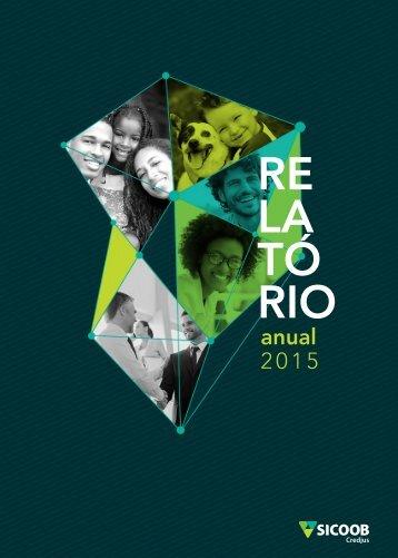 SICOOB Credjus - Relatório Anual 2015