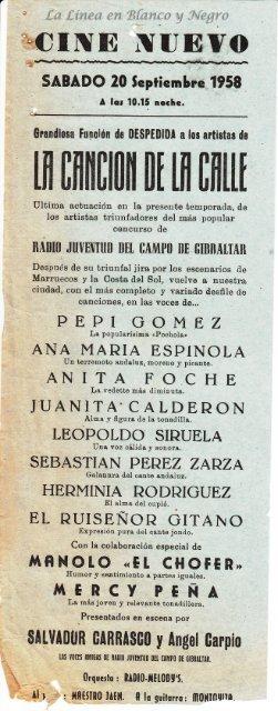 1958-09-20 La Cancion de la Calle
