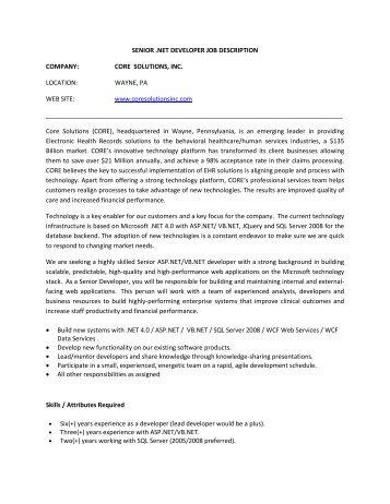 Software Development Engineer in Test Job Description - Eid Passport