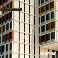 2010 ANNUAL REPORT - Watpac