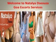 Welcome to Natalya Dseouza Goa Escorts Services2