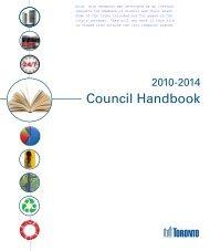2010-2014 Council Handbook - City of Toronto