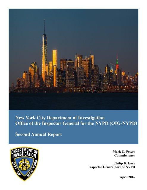 OIGNYPD-Annual-Report-2015