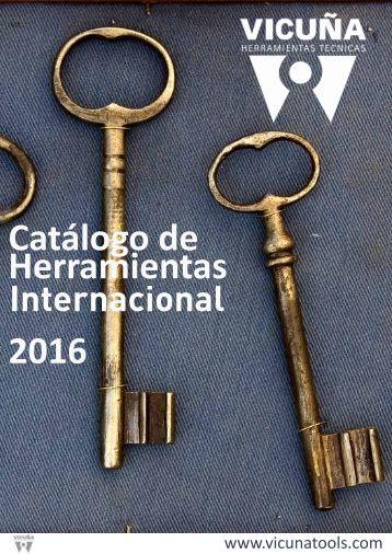 Catálogo de Herramientas 2016