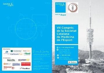 VII Congrés de la Societat Catalana de Medicina de l'Esport