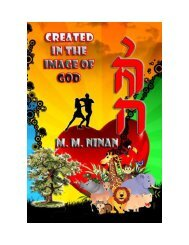 Created in the image of God