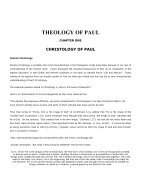 Theology Of Paul - Page 3