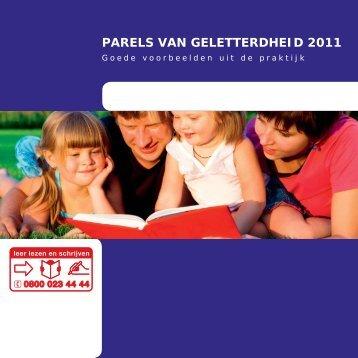 PARELS VAN GELETTERDHEID 2011 - Cinop