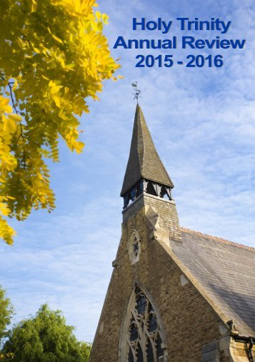 Holy Trinity Annual Review 2015 - 2016