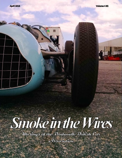 Smoke in the Wires April 2016
