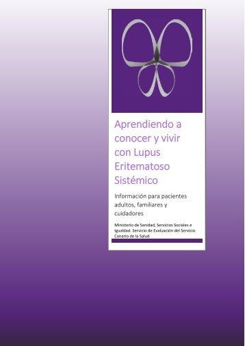conocer y vivir con Lupus Eritematoso Sistémico