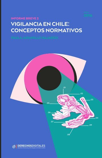 VIGILANCIA EN CHILE CONCEPTOS NORMATIVOS