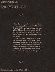 1934, Anónimo, Aventuras de Rosendo