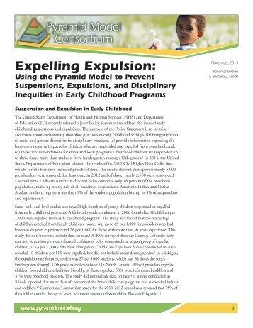 Expelling Expulsion