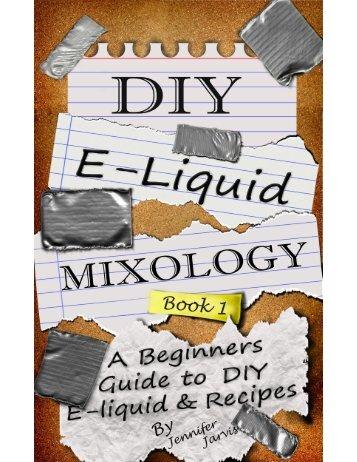 DIY E-Liquid Mixology