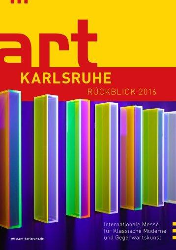 art KARLSRUHE Rückblick 2016