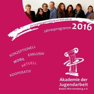 Akademie Seminarprogramm 2016