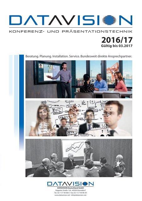 DataVision Katalog 2016/17