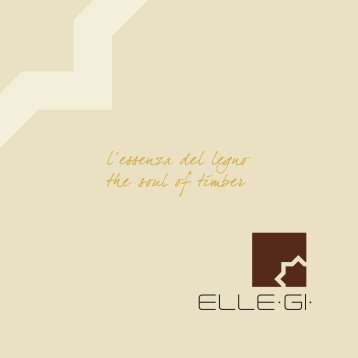 ELLEGI - The soul of timber