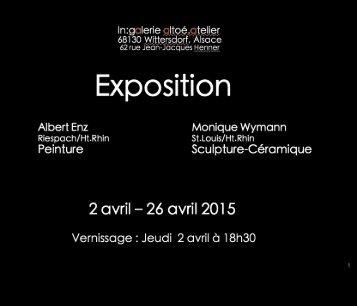 Exposition Galerie Altoé Atelier