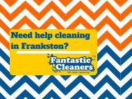Fantastic Cleaners Frankston
