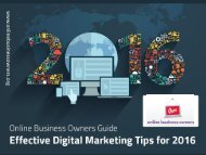 Digital Marketing Tips for 2016 - Read This Guide!