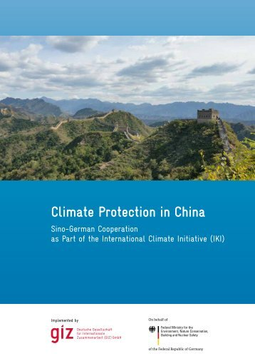 Climate Protection in China